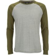 Camiseta manga larga Threadbare Coleman - Hombre - Caqui