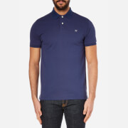 Hackett London Men's Tailored Logo Polo Shirt - Blue/Grey