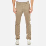 Hackett London Men's Trinity Twill Five Pocket Trousers - Sand