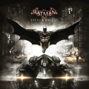 Best of Batman: Arkham Knight - The Original Motion Picture Soundtrack (1LP) - Zavvi Exclusive Limited Edition Black & Silver Splatter Vinyl
