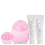 FOREO Holiday T-Sonic Skincare Collection - (LUNA 2 Normal Skin, LUNA play) Pearl Pink (Worth £236)