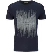 Jack & Jones Men's Core Valentino 3D Print T-Shirt - Navy Blazer
