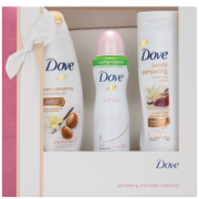 Dove Pampering Moments Trio and Wash Bag
