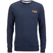 Jack & Jones Men's Originals Scala Crew Sweatshirt - Navy Blazer