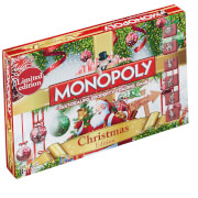 Monopoly Board Game - Christmas Edition