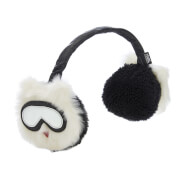 Karl Lagerfeld Women's Holiday Earmuffs - White