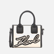 Karl Lagerfeld Women's Holiday Mini Tote Bag - Black