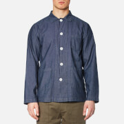 Universal Works Men's Bakers Overshirt - Indigo