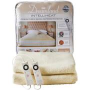 Dreamland 16306 Sleepwell Intelliheat Soft Fleece Heated Mattress Protector - Cream - King Dual