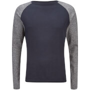 Jack & Jones Men's Originals Kaduna Raglan Jumper - Navy Blazer