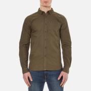 Superdry Men's Rinsewash Oxford Shirt - Khaki