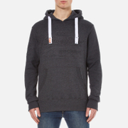 Superdry Men's Sweat Shirt Store Emboss Hoody - Black Marl