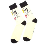 Pokémon Meowth - Crew Socks