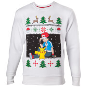 Pokémon Ash and Pikachu Christmas Jumper