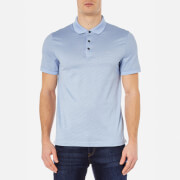 Michael Kors Men's Jacquard Polo Shirt - Steel Blue
