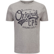 Jack & Jones Men's Originals Raffa T-Shirt - Light Grey Marl
