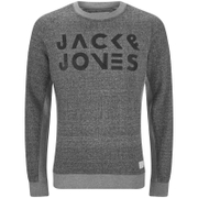 Jack & Jones Men's Core Cope Sweatshirt - Light Grey Marl