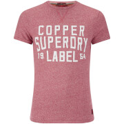 Superdry Men's Copper Label Magna T-Shirt - Harrington Red Grindle