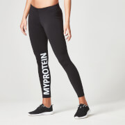 Myproteins Logo-tights for kvinner – Svart