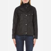 Barbour International Women's Atomizer Wax Jacket - Black
