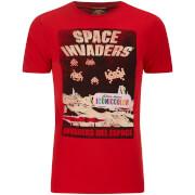Atari Men's Space Invaders Del EAtari Space T-Shirt - Red