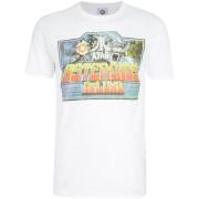 Atari Men's Asteroids Deluxe T-Shirt - White