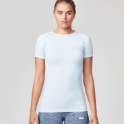 Myprotein Women's Seamless Short Sleeve T-Shirt - Smoke