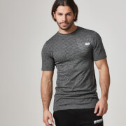 Myprotein Men's Seamless T-Shirt– Black
