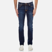 Nudie Jeans Men's Grim Tim Slim Straight Jeans - Used Big Twill