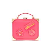 Aspinal of London Women's Yang Mi Trunk Clutch - Neon Pink