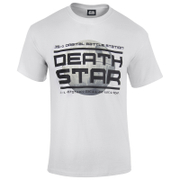 Star Wars: Rogue One Herren Death Star Logo T-Shirt - Weiß