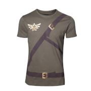 The Legend Of Zelda Link's Belts T-Shirt - Khaki