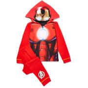 Pyjama pour Enfant - Marvel Iron Man (avec capuche) -Rouge