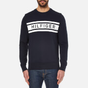 Tommy Hilfiger Men's Denton Crew Neck Sweater - Navy Blazer