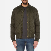Barbour Men's Moss Quilted Jacket - Sage