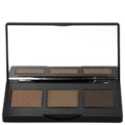 The BrowGal Convertible Brow Powder & Pomade Palette 5.5g - Brown Hair 02