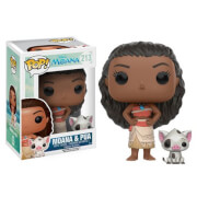 Figurines Funko Pop! Vaïana et Pua Disney