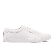 Baskets Basses Sable PU Jack & Jones -Blanc