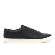Jack & Jones Men's Sable PU Trainers - Black