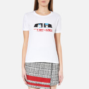 Karl Lagerfeld Women's Fly with Karl T-Shirt - White