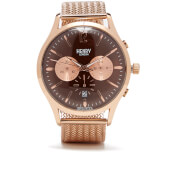 Henry London Harrow Chronograph Bracelet Watch - Rose Gold