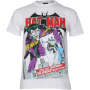DC Comics Boys' Batman Joker's Back in Town T-Shirt - White