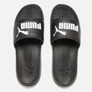 Puma Popcat Slide Sandals - Black/Black/White