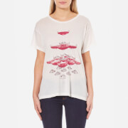 Wildfox Women's The Tower Manchester T-Shirt - Alabaster