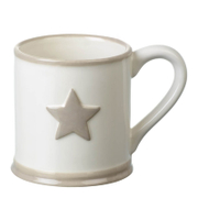 Parlane Star Ceramic Mug - White