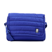 Crosshatch Ridger Quilted Messenger Bag - Sodalite Blue