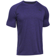 Under Armour Men's Tech Short Sleeve T-Shirt - Purple Zest