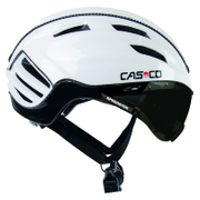 Casco Speedster TC Plus with Smoke Visor - White