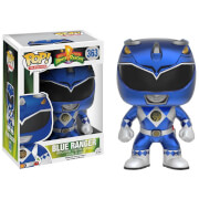 Power Rangers Metallic Blue Ranger EXC Funko Pop! Vinyl