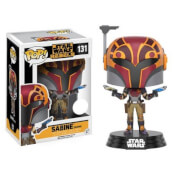 Figurine Star Wars: Rebels Sabine (Masqué) Bobblehead Funko Pop!